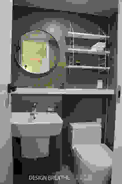 Modern bathroom by 디자인브리드 Modern