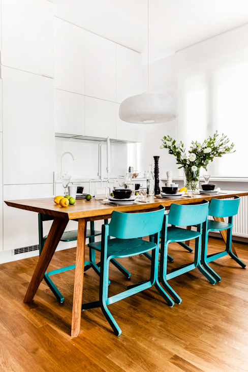 Ayuko Studio Minimalist dining room