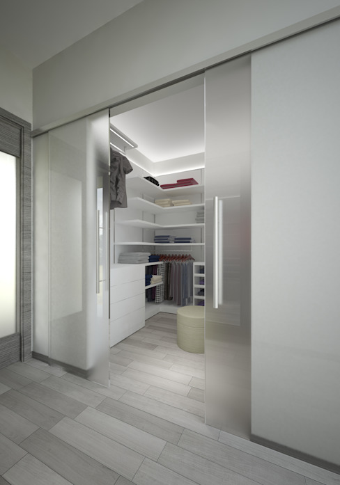Modern dressing room by Pardo Gaetano Architetto Modern