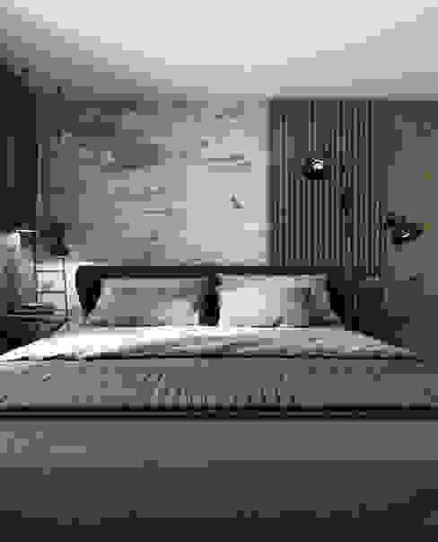 Moderne Schlafzimmer von A2.STUDIO PRACOWNIA ARCHITEKTURY Modern