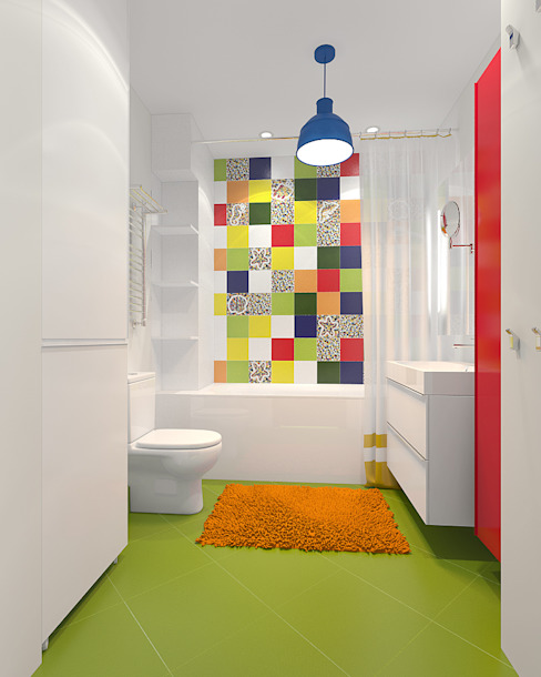 Bathroom by TrioDesign,