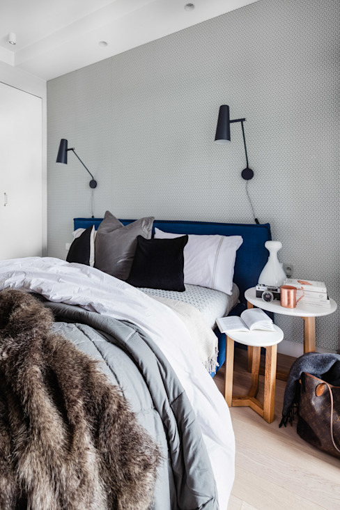 Scandinavian style bedroom by Ayuko Studio Scandinavian