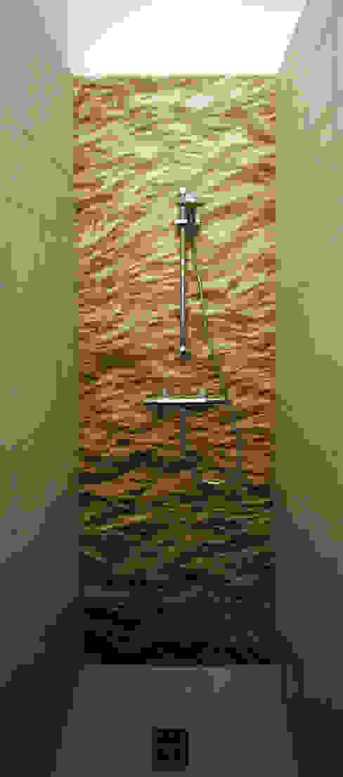 Umbau und Sanierung einer 2-Zimmer Wohnung Moderne Badezimmer von Architekt Günter Hainzl Modern