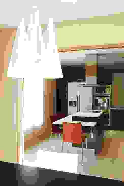 cuisine moderne bois Cuisine moderne par Agence KP Moderne Pierre