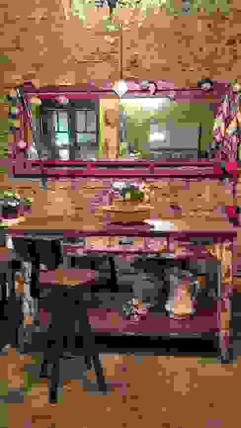 Muebles eran los de antes - Buenos Aires Rustik Masif Ahşap Rengarenk