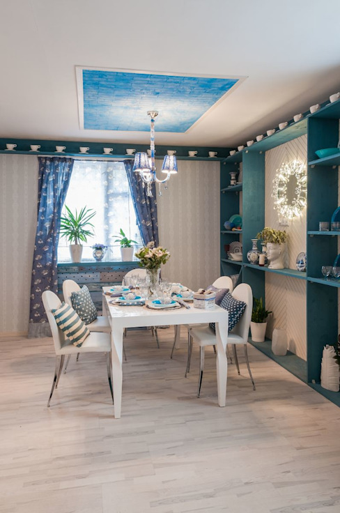 Dining room by CORKSTYLE,
