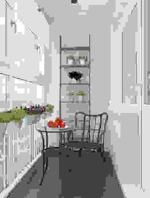 Scandinavische balkons, veranda's en terrassen van Alyona Musina Scandinavisch