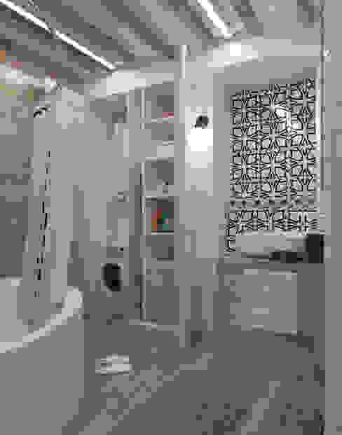 Scandinavian style bathroom by Alyona Musina Scandinavian