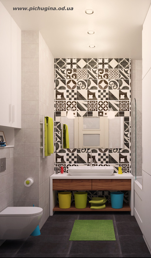Tatyana Pichugina Design의  욕실