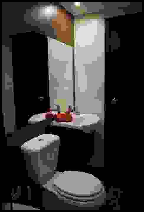 Salle de bain originale par Diseñadora Lucia Casanova Éclectique