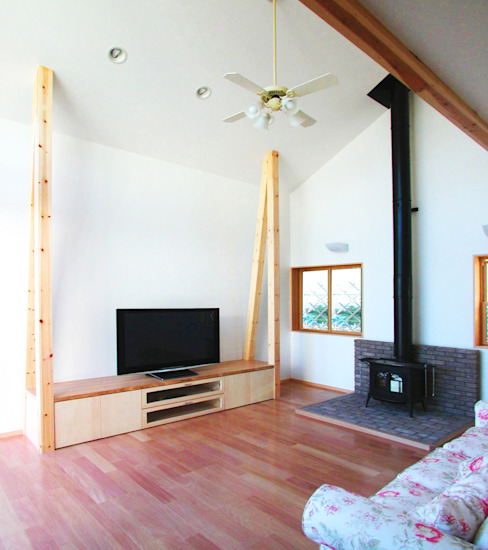 ユミラ建築設計室 غرفة المعيشة