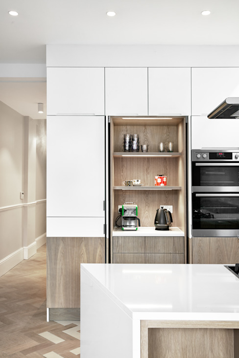 Facet House Modern Kitchen by Platform 5 Architects LLP Modern
