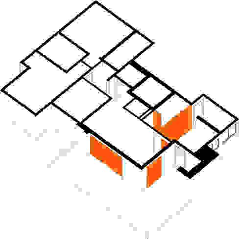 Salas de jantar  por INÁ Arquitetura, Moderno