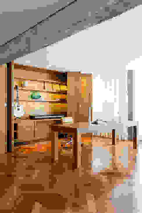 RSRG Arquitetos의  서재 & 사무실, 미니멀