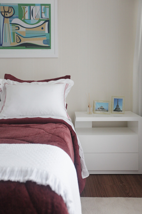 Спальни в . Автор – Arina Araujo Arquitetura e Interiores