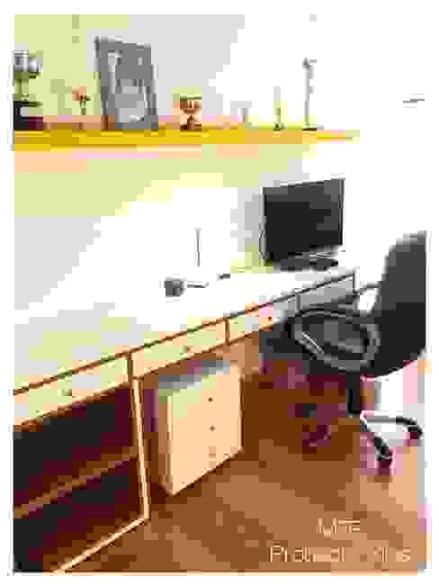 Obra Los Silos: Estudios y oficinas de estilo  por MFP Diseño de Interiores,Moderno