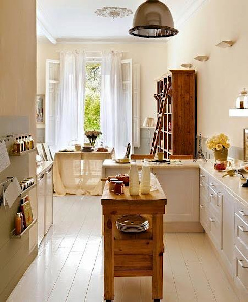 Proyectos de interiorismo varios Cozinhas modernas por estudio 60/75 Moderno