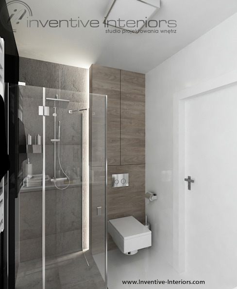 Inventive Interiors의  욕실, 인더스트리얼