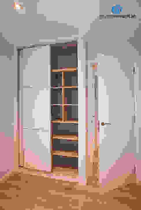 Mobiliario de dormitorio Dormitorios de estilo moderno de Grupo Inventia Moderno Madera Acabado en madera