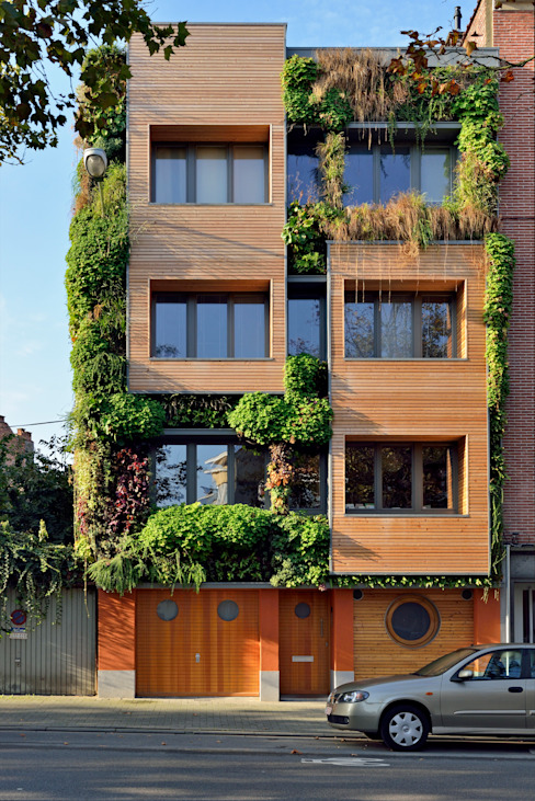 Eclectic style houses by atelier espace architectural marc somers Eclectic