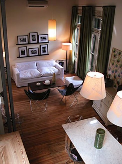 Reforma Hostel Palermo Livings modernos: Ideas, imágenes y decoración de DX ARQ - DisegnoX Arquitectos Moderno
