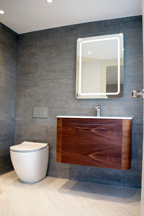 The West London conversion Modern bathroom by The Market Design & Build Modern