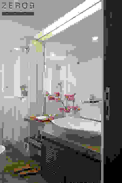 contemporary bathroom Country style bathroom by ZERO9 Country