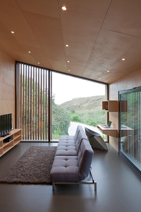 ecospace españa Modern houses Wood Wood effect