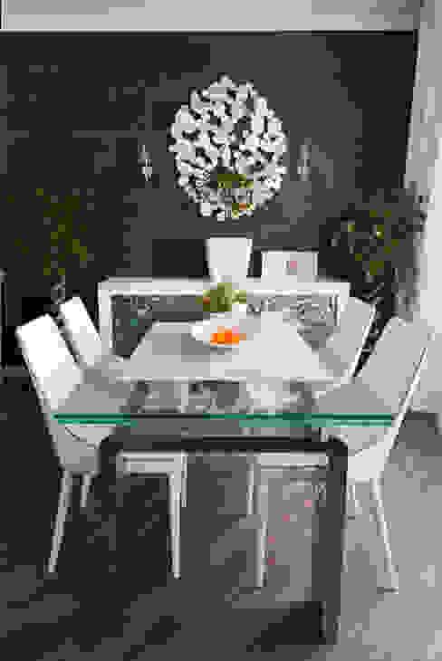 гостиная - кухня - столовая Столовая комната в стиле модерн от homify Модерн