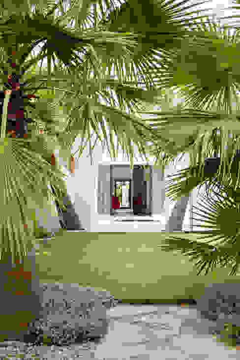 Villa C1 Maisons modernes par frederique Legon Pyra architecte Moderne