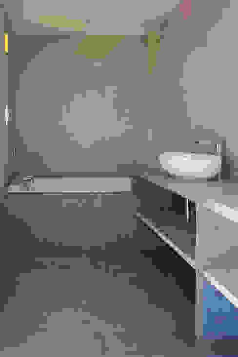 Villa C2 Salle de bain minimaliste par frederique Legon Pyra architecte Minimaliste