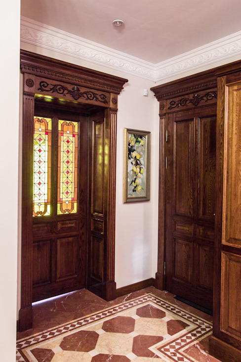Classic windows & doors by Design interior OLGA MUDRYAKOVA Classic