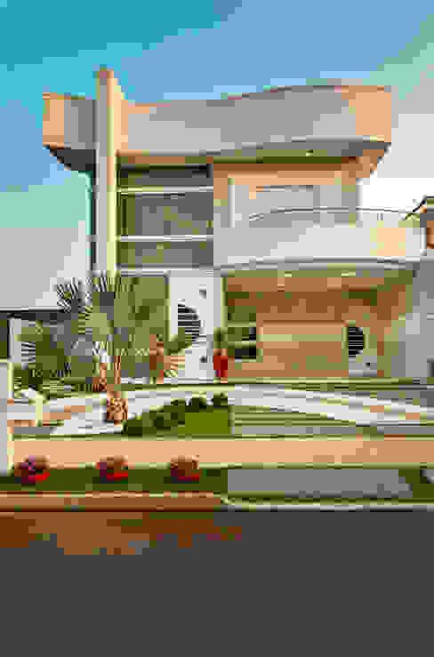 Arquiteto Aquiles Nícolas Kílaris Rumah Modern Beton Grey