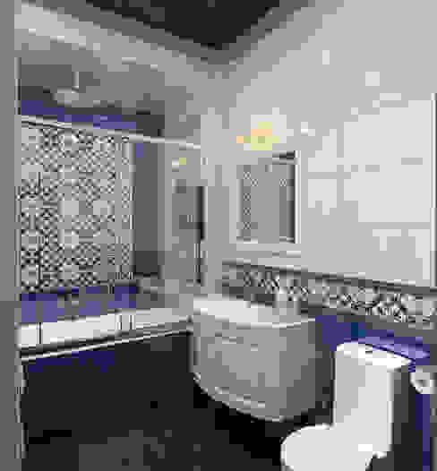 трехкомнатная квартира ул. Кирочная Ванная в классическом стиле от Design interior OLGA MUDRYAKOVA Классический