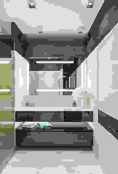 Minimalist style bathroom by INTERIERIUM Minimalist