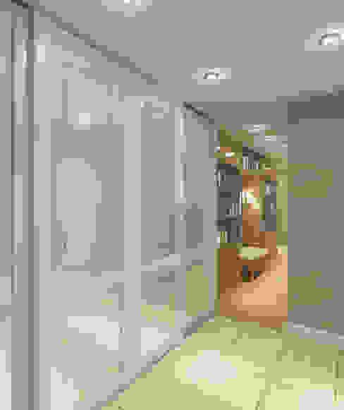 Classic style corridor, hallway and stairs by Design interior OLGA MUDRYAKOVA Classic