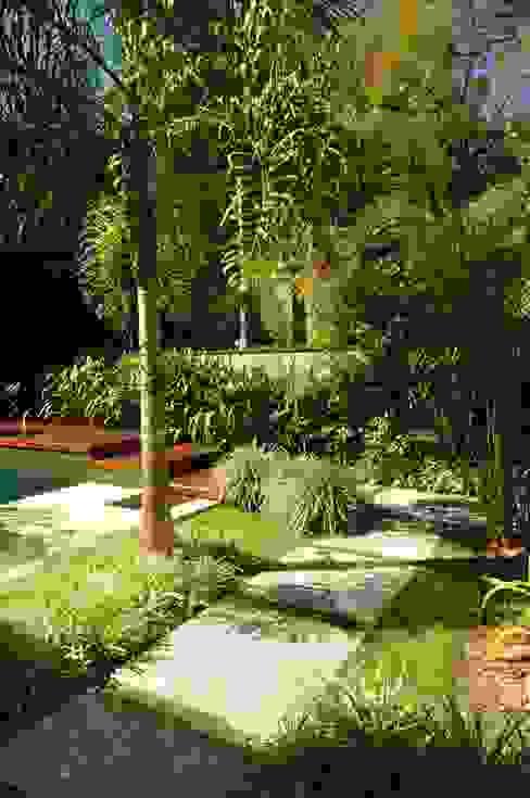 Egzotyczny ogród od alexandre galhego paisagismo Egzotyczny