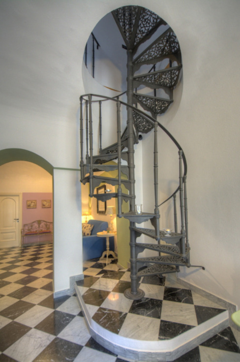 House Emilio Rescigno - Fotografia Immobiliare Ingresso, Corridoio & Scale in stile moderno