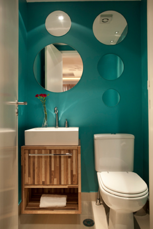 Salle de bain moderne par Samy & Ricky Arquitetura Moderne