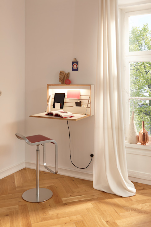 office in a box: modern  von !idee : studio michael hilgers,Modern