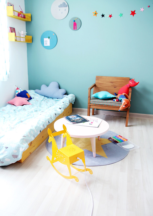 전셋집 4년 셀프인테리어 self interior 인더스트리얼 아이방 by 13월의 블루 인더스트리얼