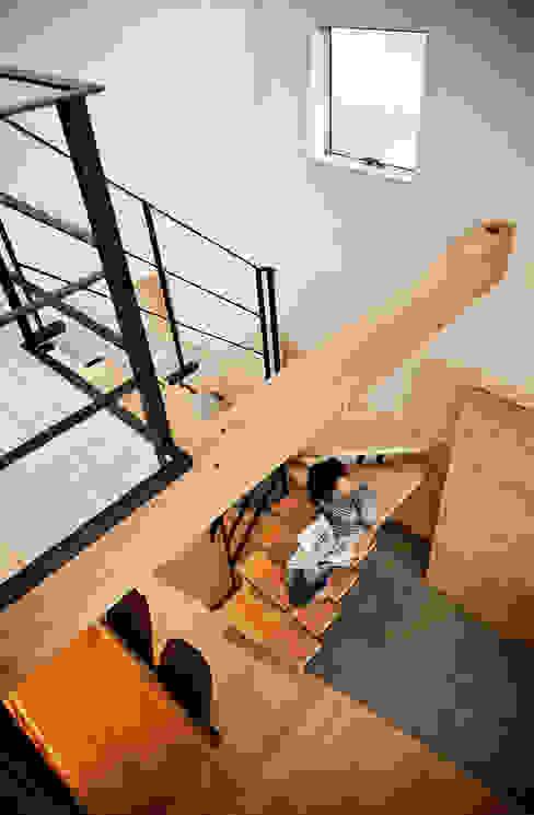 Ruang Keluarga Gaya Eklektik Oleh 株式会社seki.design Eklektik Kayu Wood effect