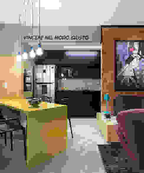 GC HOUSE: Salas de jantar  por Arquitetando ideias