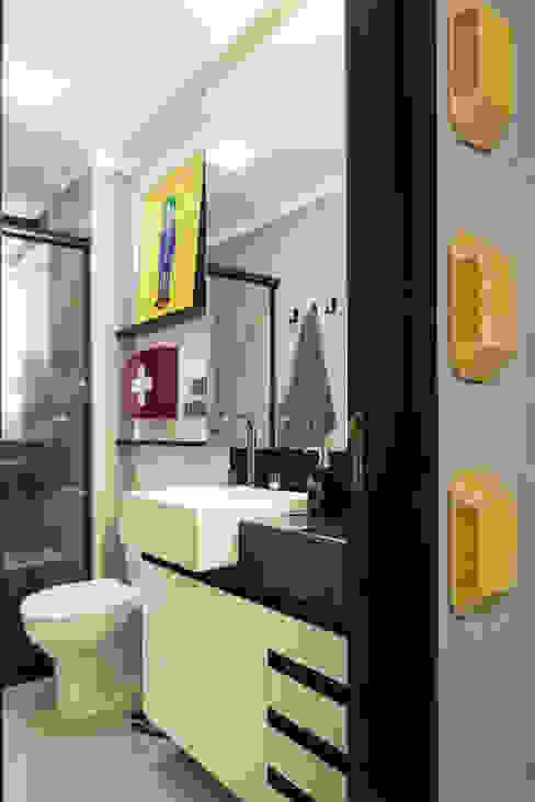 GC HOUSE Banheiros modernos por Arquitetando ideias Moderno