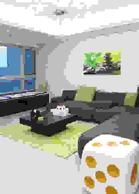 vintage livingroom2: 필립인테리어의  거실,모던