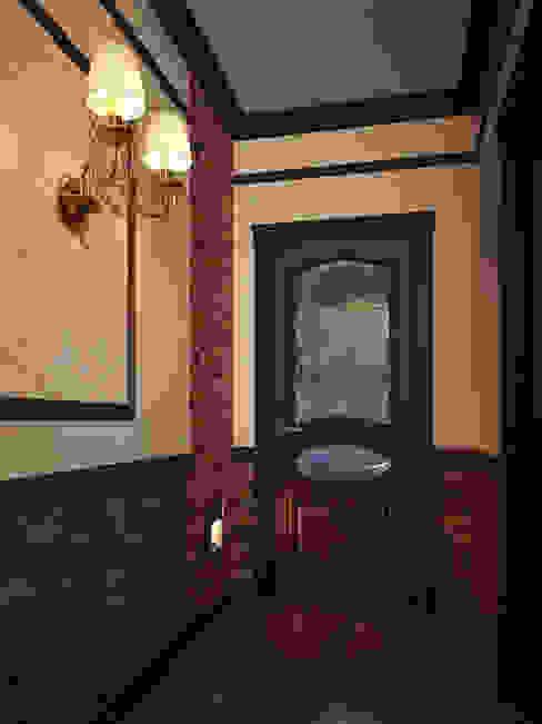 Couloir, entrée, escaliers classiques par Alyona Musina Classique