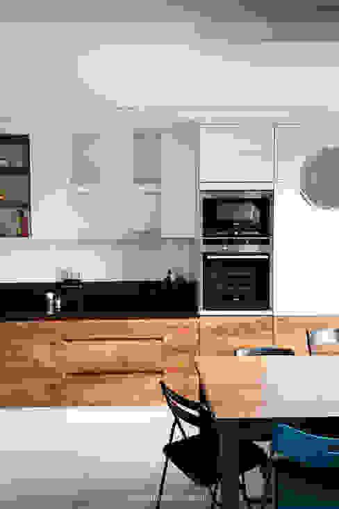Cocinas de estilo escandinavo de Patryk Kowalski Architektura i projektowanie wnętrz Escandinavo