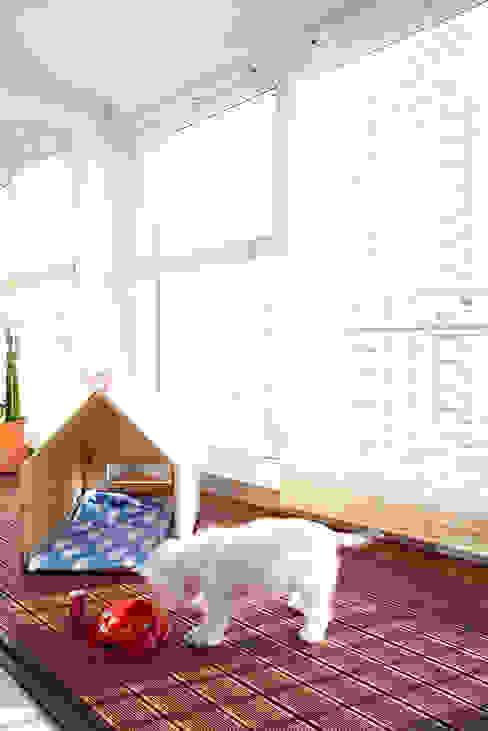 Balcone, Veranda & Terrazza in stile moderno di housetherapy Moderno