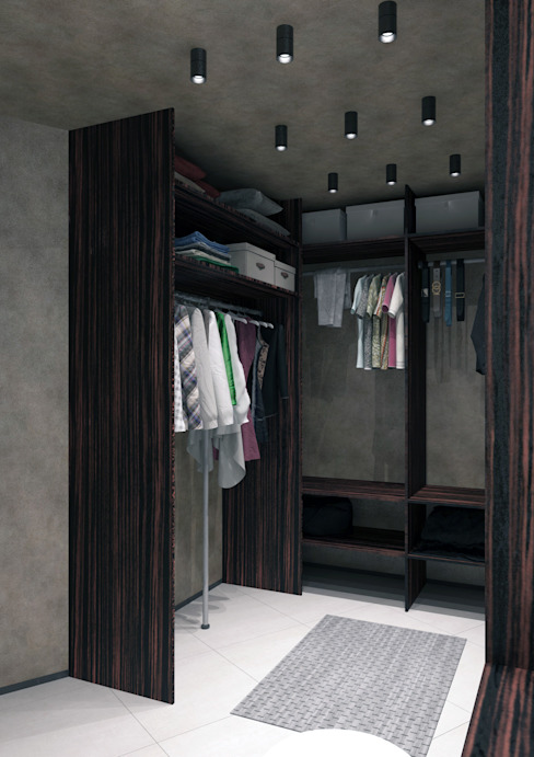 Minimalist dressing room by QUADRUM STUDIO Minimalist