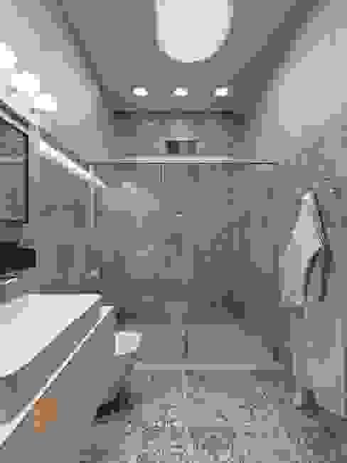 Bathroom by Студия Павла Полынова, Minimalist